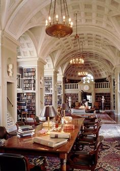 Boston Athenaeum reading room, Boston, MA Such a cool place! They have some of George Washington's private collection of books here! Beautiful Library, Dream Library, Library Books, Cozy Library, Future Library, Library Ideas, Interior And Exterior, Interior Design, Home Libraries