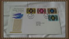 Post office souvenir cover The Queens silver jubilee tour 1977 Glasgow Scotland by brianspastimes on Etsy