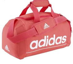 Sports bags Accessories and Nutrition - Essentials Line Bag ADIDAS - Luggage and Bags Mochila Adidas, Adidas Duffle Bag, Adidas Bags, Baby Diaper Bags, Cute Backpacks, Backpack Bags, Duffel Bags, Cute Bags, Luxury Bags