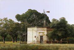 Jorge Frasca, Pintor realista contemporáneo Hispanic American, Country Art, Mount Rushmore, Nostalgia, Mountains, Building, Nature, Painting, Travel