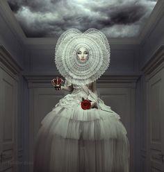 White Queen by NatalieShau