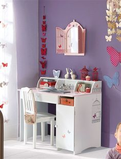 1000 images about kinderkamer laura on pinterest papillons mobile library and bureaus. Black Bedroom Furniture Sets. Home Design Ideas