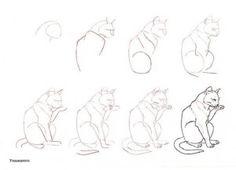 Como dibujar gatos (1)