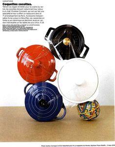 Une jolie parution toute en cocottes, dans M le magazine du Monde du 2 mars 2013