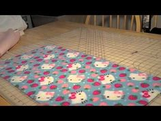 How to Make Fleece Liners for Yur Guinea Pig Cage (with fleece sides to prevent burrowing or coroplast chewing)
