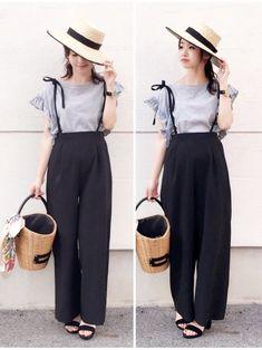 Ideas on korean fashion trends 635 Korean Fashion Trends, Korean Street Fashion, Korea Fashion, Asian Fashion, Fashion 2018, Classy Outfits, Trendy Outfits, Cute Outfits, Modest Fashion