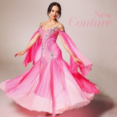 Wonderful pink gown classic styling - CHRISANNE CLOVER (@chrisanne_clover)