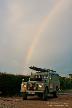 """Land Rover Series IIa """"One-Tonne"""" - at the end of the rainbow..."""
