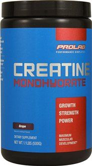 Creatine acts naturally as a source of energy for high-intensity, anaerobic exercises – it's proven to effectively increase strength and lean body mass without negative side effects.