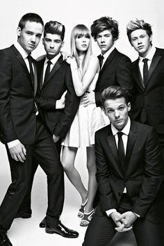 One Direction Vogue Pictures & Interview with Edie Campbell (Vogue.com UK)