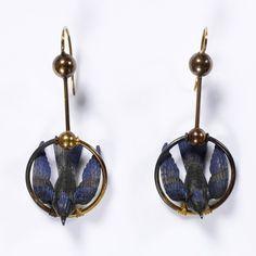 earrings ca. 1875 via The Victoria & Albert Museum