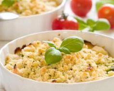 Gratin de légumes du soleil façon crumble : http://www.fourchette-et-bikini.fr/recettes/recettes-minceur/gratin-de-legumes-du-soleil-facon-crumble.html