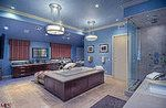 Mark Wahlberg's bathroom. It's kind of masculine, but I love it.