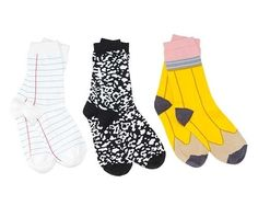 Back-To-School Socks, $12 per pair | 33 Rad Supplies That Will Make You Pumped To Go Back To School