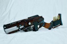 Ambroglious. Steampunk Rifle by Propagations on Etsy