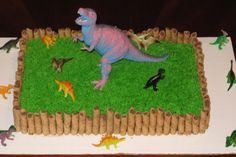 T Rex Dinosaur Cakes