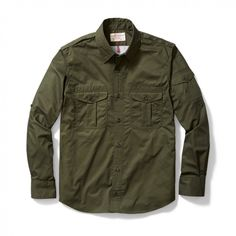 Magnum Vented Bush Shirt by Filson