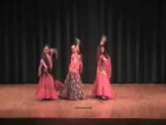 shawl instead of veil (?) -- watch with my song --Spanish Arabic Fusion Belly Dance Altagracia Style