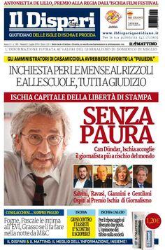 La copertina del 01 luglio 2016 #ischia #ildispari