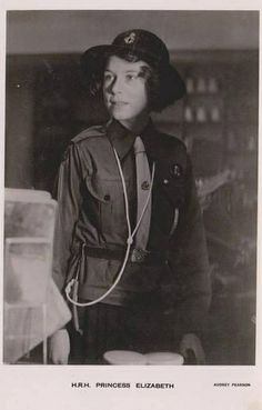 Young Princess Elizabeth as Scout | Flickr - Photo Sharing!