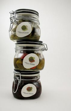 Boone's Farm Elizabeth Vereker | jar labels with shapes reminiscent of the food product