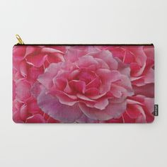 Rose Divine Carry-All Pouch by crismanart Buy Roses, Pouches, Carry On, Coin Purse, Pastel, Illustration, Photography, Bags, Painting