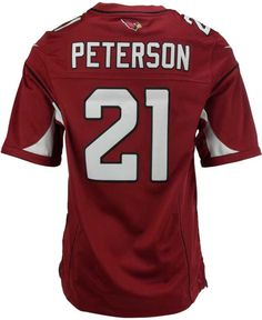 NFL Jerseys Official - NFL Youth Arizona Cardinals Larry Fitzgerald White Game #Jersey ...