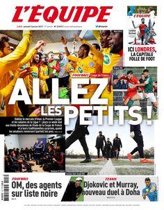 L'Équipe - Samedi 7 Janvier 2017 - N° 22815