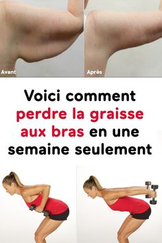 Here's how to lose arm fat in just one week - Pctr UP Weight Loss For Women, Best Weight Loss, Weight Loss Tips, Body Challenge, Workout Challenge, Fitness Herausforderungen, Fitness Motivation, Fun Workouts, At Home Workouts