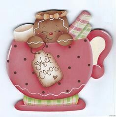To Make Fridge Magnet Gift Ideas Printer Projects Jewelry Gingerbread Crafts, Gingerbread Decorations, Christmas Gingerbread, Christmas Decorations, Christmas Makes, Christmas Crafts, Christmas Ornaments, Christmas Clipart, Christmas Printables