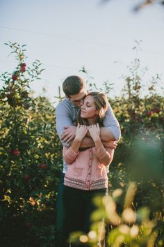 Chelsea + Brocton // Grand Rapids Fall Engagement Session » Abbey Moore Photography