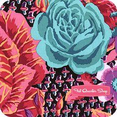 Kaffe Fassett Collective Wine Cabbage & Rose Yardage SKU# PWGP038-WINEX