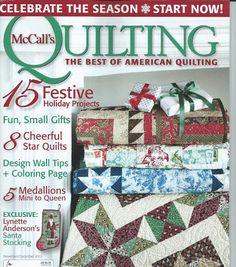 McC Nov-Dec 15 -cottage romance part 6 series quilt - Picasa Web Albums