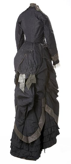 Wedding dress ca. 1878 From the Glenbow Museum