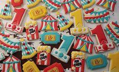 Carnival First Birthday sugar cookies  #cookies #sugarcookies #decoratedcookies #cookieart #cookieartist #customcookies #creativecookies #royalicing #royalicingcookies #cookielove #icingart #sugarcookie #sugarcookieart #firstbirthdaycookies #1stbirthdaycookies #carnivalcookies #circuscookies #birthday #happybirthday