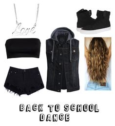 """""""Back to school dance"""" by funybuny-4luv2anime ❤ liked on Polyvore featuring Supra and Bling Jewelry"""