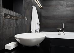 Find Modern Minimalism Style Bathroom Interior Black stock images in HD and millions of other royalty-free stock photos, illustrations and vectors in the Shutterstock collection. Thousands of new, high-quality pictures added every day. Feature Tiles, Ceramic Materials, High Contrast, Bathroom Styling, Black Decor, Building Materials, Porcelain Tile, Bathroom Interior, Modern Design