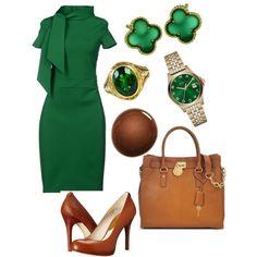Work Outfit 5. Me encanta este look cincuentero estoy MAD MEN. Me encanta! !!! Mo Chic.