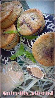 Spirellis Allerlei: {Süße Kleinigkeiten} Yummi Blueberry-Muffins