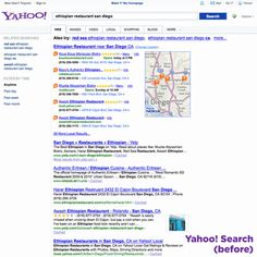 Yahoo unveiled a new look for its search page on Wednesday, marking the first major update to search since Marissa Mayer took over as CEO nearly a year ago. Yahoo describes it as more modern Portal, Independent News Sources, Search Page, Navigation Bar, Technology World, Seo Sem, Internet, Yahoo Search, Digital Media