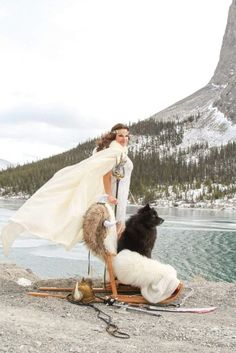 """From a Viking themed photoshoot, Finnish Lapphund, """"Odin,"""" RBIS MBPIS  Am Ch Can Gr Ch Bearspaw Sampo, HIC. Photo by Nicole Prokopishyn. Outdoor Furniture, Outdoor Decor, Fur Babies, Vikings, Photoshoot, The Vikings, Photo Shoot, Backyard Furniture, Lawn Furniture"""