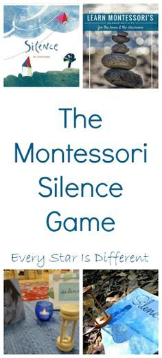 The Montessori Silence Game: Tips and Resources for use at home and at school with a list of silence themed book recommendations.
