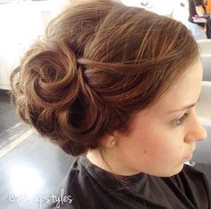 Romantic and polished hairstyle #wb_upstyles