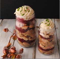Stuffing and Cranberry Sauce - Mason Jar Crafts Love