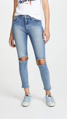 James Jeans High Class Skinny Jeans James Jeans, High Class, Stretch Jeans, Distressed Jeans, High Fashion, Your Style, Skinny Jeans, Denim, How To Wear