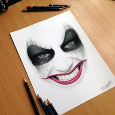 Harley Quinn Pencil Drawing by AtomiccircuS on DeviantArt