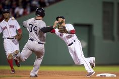 Boston Red Sox added a new photo. Dustin Pedroia, Red Sox Nation, Boston Red Sox, Socks, Baseball Cards, Work Clothes, Men, Watch, Awesome