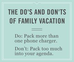 Whether you're headed to the beach or the mountains, we want to help you make the most out of your family vacation with these travel tips. Don't forget your selfie stick!