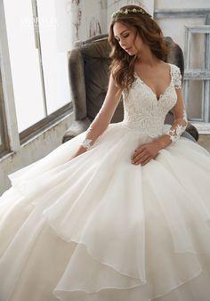 Morilee by Madeline Gardner 5517 Ball Gown Wedding Dress