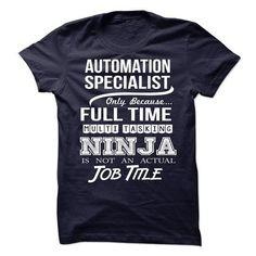 AUTOMATION-SPECIALIST - Job title T Shirts, Hoodies Sweatshirts. Check price ==►…